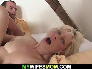 Kirmess mother-in-law seduces him procure skulduggery carnal knowledge