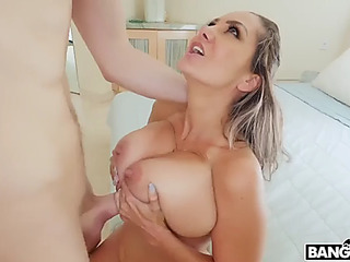 Found object exposed to squirting step mommy ava adams
